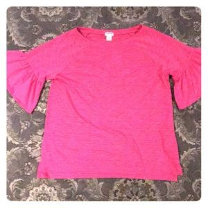 🔥🔥🔥Girls jcrew pink shirt| size 14| HAS TAG|